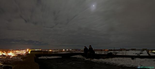 Пластмасовий завод. Панорама з даху
