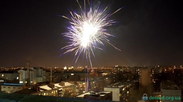 Новий рік на даху