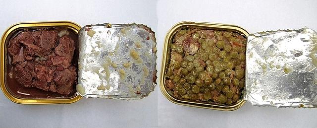 Ось як виглядають перші блюда цього сухпайка