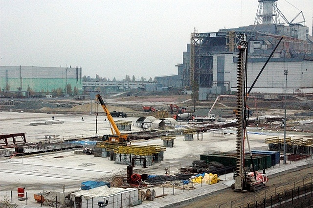 Майданчик будівництва НБК