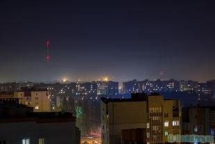 Панорама Луцька з висоти 13-го поверху