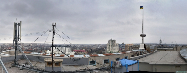 Панорама з даху Облдержадміністрації