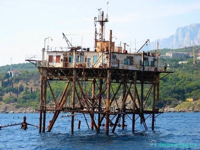 Океанографічна платформа. Кацивелі