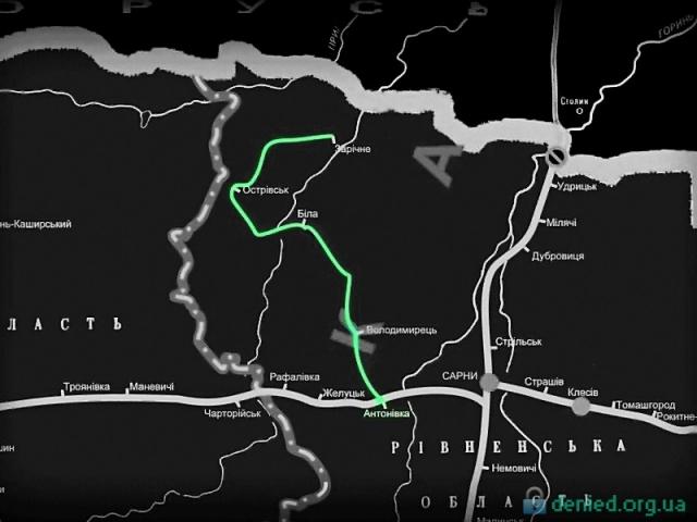 Найдовша вузькоколійна залізниця в Європі Антонівка — Зарічне